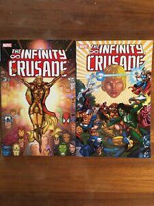 Infinity Crusade vol 1 2 set Warlock Thanos Starlin