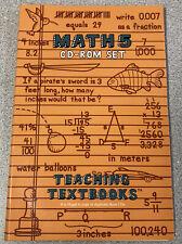 Teaching Textbooks Math 5 CD-ROM Set Automated Grading