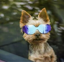 Enjoying Small Dog Sunglasses - Dog Goggles for UV Protection Snow-Proof Wind