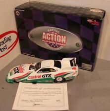 1997 John Force Castrol GTX 1/24 Action NHRA Diecast Autographed