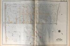 ORIG 1920 TORRESDALE PHILADELPHIA PA HOME FOR DEPENDENT CHILDREN ATLAS PLAT MAP