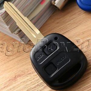 2 Button Car Key Blank Button Shell Case Enclosure For Toyota RAV4 Corolla Echo