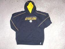PITTSBURGH STEELERS sewn Reebok Hoodie Sweatshirt youth Large