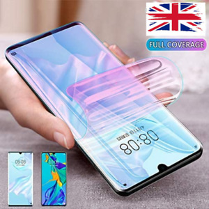 For Huawei P30 Pro Smart TPU Hydrogel FILM Screen Protector COVER