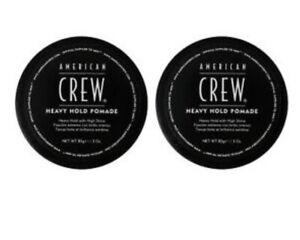 American Crew Men Heavy Hold Pomade 3oz High Shine (2 PacK) $11.49