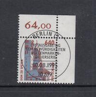 BRD Mi-Nr. 1811 zentrisch gestempelt ESST - Bogenrand / Eckrand / Ecke 2