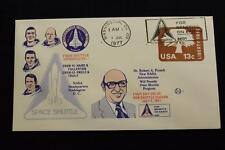 SPACE COVER 1ST DAY USE OF NEW SHUTTLE SLOGAN CANCEL WASHINGTON D.C. (1515)