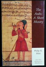 The Arabs:A Short History Philip K. Hitti New Intro. Philip Khoury PBk 1998 FINE