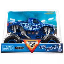 Monster Jam Blue Thunder Truck True Metal 1 24