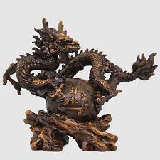 Art Deco Sculpture Dragon Home Decoration Resin Statue