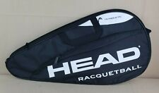 HEAD Racquetball Racket Carrying Bag w Accessory Compartment Adj Shoulder Strap