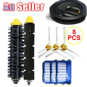 8Pcs Replacement Parts Compatible With iRobot Roomba 600 Series 620 630 Cleaner