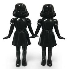 AWESOME TOY TWINS SHADOW BLACK VINYL EDITION PAIR SET BY ARTIST ZACH TAYLOR