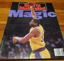Magic Johnson Sports Illustrated Magazine Lakers November 18th 1991 Retirement