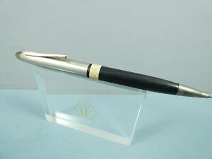 Vintage Eversharp Black & Steel Repeater Pencil, GT, 1940's, Sales Tag *RARE*