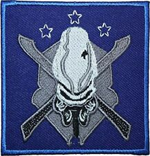 "Halo Legendary Badge Iron/Sewn On Embroidered Premium 3.5"" Patch"