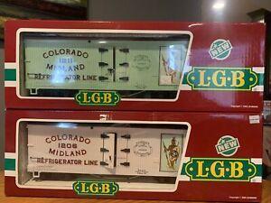 LGB 4072 P01 & P02 Set Colorado Midland Refrigerator Line