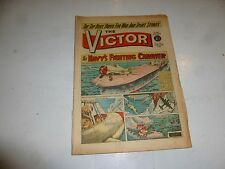 VICTOR Comic - Issue 122 - Date 22/06/1963 - UK Paper Comic