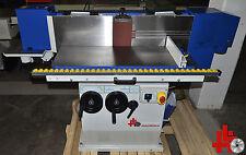 Kantenschleifmaschine Typ WJ-KS30s, mit Schleifschuh & Oszillation, doppelseitig
