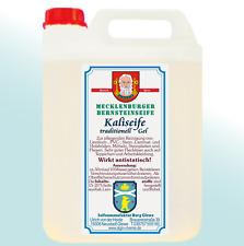 Kaliseife Mecklenburger Bernstein 6-Liter-Kanister  Schmierseife naturell öko