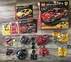 Lego Racers 8143 Ferrari Challenge-RARE!-SEE PHOTOS ALL BAGS SEALED! REVIEWS!!