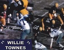 Willie Townes Signed 8 x 10 Photo