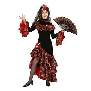 Costume Spagnola Vestito Carnevale ballerina flamengo spagnola Pegasus