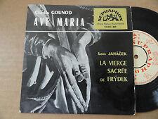 "DISQUE 45T DE  CHARLES GOUNOD   "" AVE MARIA  """