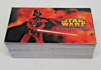 Star Wars Revenge of the Sith Widevision Trading Card Base Set 1-80 Clean