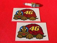 Pair Rossi turtle fairing L stickers