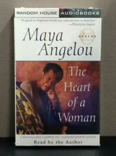"Maya Angelou ""The Heart of a Woman""   (Audiobook - 2 cassettes)   BRAND NEW"