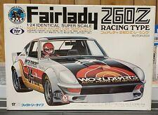 Rare 1/24 Marui Motor Rise Fairlady 260Z Racing Nissan Z Plastic Model NOS