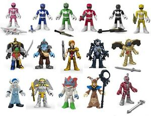 """Imaginext Power Rangers 3"""" Figure Heroes and Villains: Choose one"""