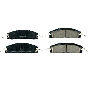 For Ford Explorer Taurus & Lincoln MKS PowerStop Ceramic Front Brake Pads