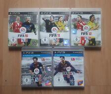 PS3 Fussball Spiele Sammlung Fifa 10 11 12 13 14 Playstation 3 Soccer Games