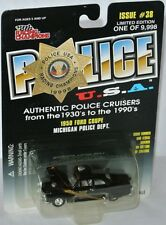 Racing Champions Police #38 - 1950 FORD COUPE * Michigan Police Dept * - 1:58