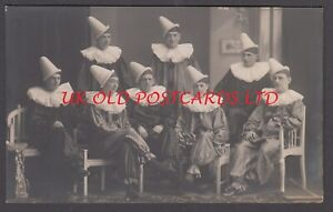 Norfolk - GREAT YARMOUTH Pierrot troupe - Real Photo by Alfred W. Yallop