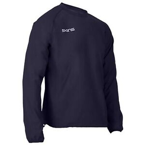 Skins Contact Top - Mens - Navy - New - Sportswear - Long Sleeve