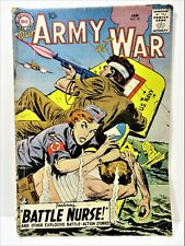 """LOT OF 1 DC OUR ARMY AT WAR, FEATURING """"BATTLE NURSE"""". 1959"""