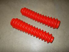 Honda ATC 250R 200X 350X Front Shock Fork Boots ATV NEW RED
