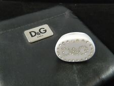 Authentic Dolce & Gabbana D&G Crystal Ring Sz 6 Limited Edition  EUC