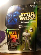Star Wars POTF Luke Skywalker In Stormtrooper Disguise w/ Imperial Issue Blaster