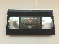 """2003 Genuine Harley Davidson Motor Co. """"Welcome to the Family"""" VHS Video Tape"""