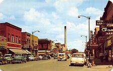 WY - 1950's Second Street in Laramie, Wyoming - Albany County