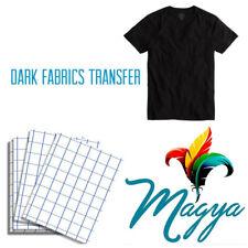 Dark Fabrics Blue Grid 200sh 85x11 Heat Transfer Paper For Ink Jet Printing
