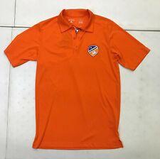 FC Cincinnati Mens Soccer Team Polo Short Sleeve Antigua Size Small Orange