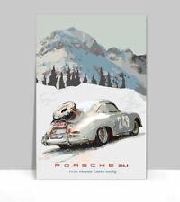 Porsche race poster  1986 Monza Sprint 30x40 Racing vintage original 911 356 912