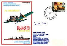 Battle of Bismarck Sea 1943 Signed A D Dick WW11 Thunderbolt Pilot
