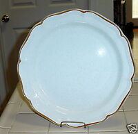 """MIKASA BARONIAL CHOP PLATE ROUND SERVING PLATTER 12-1/2"""" CM950 NUTRAL COLORS EC"""