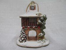 Lilliput Lane Festive Times 2013 Christmas Ornament L3529 Nib Deed